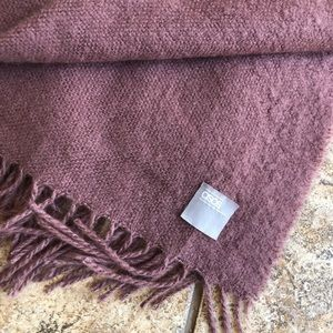 ASOS purple scarf